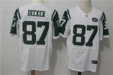 New York Jets #87 White NFL Jersey (2)