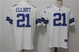 Dallas cowboys #21 White NFL Jersey (26)