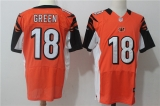 Cincinnati Bengals #18 Orange NFL Jersey (6)