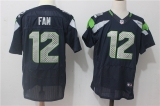 Seattle Seahawks #12 Blue NFL Jersey (23)