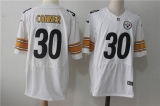 Pittsburgh Steelers #30 White NFL Jerseys (72)