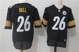 Pittsburgh Steelers #26 Black NFL Jerseys (75)