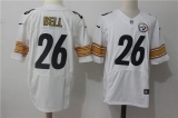 Pittsburgh Steelers #26 White NFL Jerseys (78)