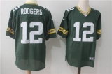 Green Bay Packers #12 Green NFL Jersey (24)