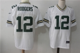 Green Bay Packers #12 White NFL Jersey (29)