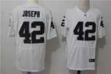 Oakland Raiders #42 White NFL Jersey (37)