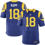 Nike Rams #18 Cooper Kupp Royal Blue Alternate Men\'s Stitched NFL Elite Jersey