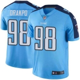 Nike Titans #98 Brian Orakpo Light Blue Team Color Men\'s Stitched NFL Vapor Untouchable Limited Jersey