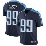 Nike Titans #99 Jurrell Casey Navy Blue Alternate Men\'s Stitched NFL Vapor Untouchable Limited Jersey