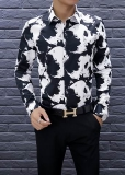 Alexander McQueen long shirt man M-XXXXL(good quality) (4)