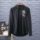 Alexander McQueen long shirt man M-XXXXL(good quality) (2)