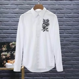 Alexander McQueen long shirt man M-XXXXL(good quality) (1)