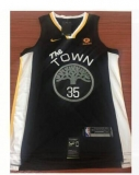 Oklahoma City Thunder #35 Kevin Durant new black NBA Jersey