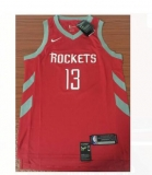 NBA Houston Rockets #13 red jerseys