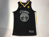 Oklahoma City Thunder #30 Kevin Durant new black NBA Jersey