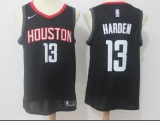 Houston Rockets #13 James Harden Black 2015 New Stitched NBA Jersey