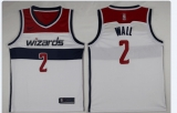 Washington Wizards #2 John Wall New White Home Stitched NBA Jersey
