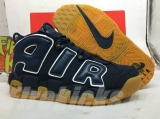 "Super Max Perfect Air More Uptempo ""Obsidian Gum"" Men Shoes(98%Authenic)-JB (25)"