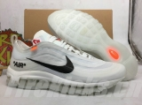 Perfect Nike Air Max 97 X OFF-WHITE Men Shoes -XY (5)