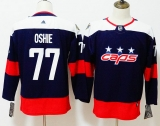 Washington Capitals #77 Black Red NHL  Children's Jersey (4)