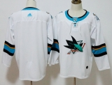 San Jose Sharks WhiteBlue NHL Jersey (6)