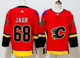 Calgary Flames #68 Red  NHL Jersey (3)