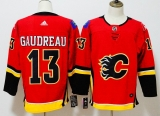 Calgary Flames #13 Red  NHL Jersey (5)