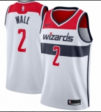 Washington Wizards #2 John Wall White 2017-2018 Nike Swingman Stitched NBA Jersey