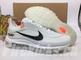 (Final version)Authentic Nike The 10 Air Max 97 X OFF-WHITE Men And Women Shoes -JB