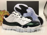 (Final version)Authentic Air Jordan 11 Low Emerald-FZ