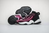 "Authentic Pharrell x Adidas Crazy BYW ""Solar Pink"" Men And Women Shoes - LY"