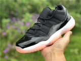 "Authentic Air Jordan 11 GS Low""Bleached Coral"""