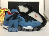 "Super Max Perfect Air Jordan 4 ""Houston Oilers x Travis Scott Men Shoes -SY"