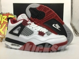 "(not in stock)Super Max Perfect Air Jordan 4 ""Fire Red"""