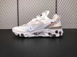 Off-White x Nike Super Max Perfect React Element Men And Women Shoes (98%Authentic)-JB(72)
