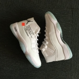 OFF-WHITE x Air Jordan 11 Men Shoes AAA -SY (22)