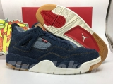 Super Max Perfect Levis x Air Jordan 4 -SY
