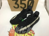 "(OG Qualtiy)Authentic Adidas Yeezy 350 Boost V2 ""Black White""Men And Women Shoes -ZL"