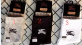 (No Box) Burberry Socks - QQ (2)