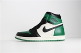 "Air Jordan 1 ""Pine Green"" AAA Women Shoes -SY"