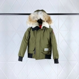 Canada Goose x OVO Down Jaket With Removable Real coyote fur ruff Women -BY (2)