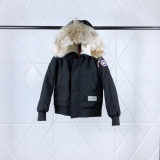Canada Goose x OVO Down Jaket With Removable Real coyote fur ruff Women -BY (3)