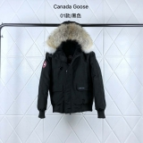 Canada Goose Down Jaket 01 With Removable Real coyote fur ruff Women-BY (8)