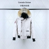 Canada Goose Down Jaket 01 With Removable Real coyote fur ruff Women-BY (9)