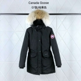 Canada Goose Down Jaket 07 With Removable Real coyote fur ruff Women-BY (15)