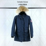 Canada Goose Down Jaket 07 With Removable Real coyote fur ruff Women-BY (16)