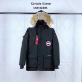 Canada Goose Down Jaket 08 With Removable Real coyote fur ruff Women-XSD (17)