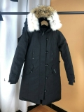 Canada Goose Down Jaket 12 With Removable Real coyote fur ruff Women-BY (25)
