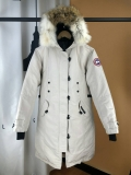 Canada Goose Down Jaket 12 With Removable Real coyote fur ruff Women-BY (27)