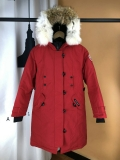 Canada Goose Down Jaket 12 With Removable Real coyote fur ruff Women-BY (28)